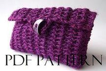 Crochet Bags Pattern / crochet bag patterns, bags patterns, crochet pouches bags patterns