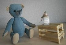 Мишки Тедди / Teddy bears  handmade by Ilona Fralova