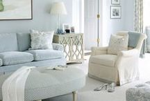 Shabby chic style / French Shabby chic style living rooms