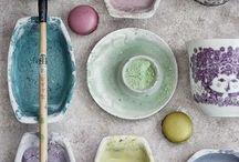 Pastell inspiration / Färger, material, inspiration