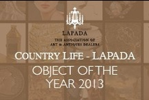 The Country Life - LAPADA Object of the Year 2013 / All the fantastic entries for the 5th Annual Country Life - LAPADA Object of the Year   www.lapada-object-of-the-year.com   #OOTY13   Don't forget to vote for your favourite!