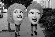Masks / dummies / by Raeder Lomax