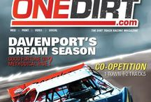 OneDirt.com -- Dirt Track Racing Action / Because it isn't racing if you don't get dirt in your teeth!