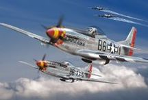 WAR BIRDS... / Fighter planes, past and present. / by Randy Jondal