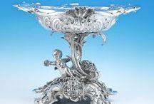 Silver / Fine silver at The LAPADA Fair 2014.