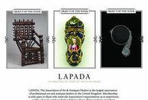 LAPADA Object of the Week / Sign up to the LAPADA mailing list to receive newsletters, invitations to fairs and the newly launched Object of the Week emails showcasing the magnificent diversity of rare, interesting and quality objects from our members.  Visit www.lapada.org to join the mailing list.