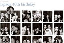 40th Anniversary Party / What a night! Thank you to everybody who attended our 40th anniversary party at the LAPADA Fair, also to our fantastic sponsors Rawlinson & Hunter, Besso and the Antiques Trade Gazette who've gone to print with some of the more publishable 1970s photo booth pics. Spot anyone you recognise?