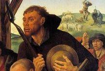 06  Noordelijke Renaissance    ±1490 - 1575 / 04  Noordelijke renaissance is de aanduiding voor een periode in de Nederlanden ea landen in Noord-Europa.  Pionier was Albrecht Dürer vanaf 1490.  Dürer verspreidde zijn vernieuwende stijl dmv houtsnedes en gravures. Vond navolging door schilder en prentmaker Lucas van Leyden. Jan Gossaert, Bernard van_Orley,_Barend van Orley en Michiel Coxie, Cornelis Floris de Vriendt en Hans Vredeman de Vries,  Maarten van Heemskerck, Maarten de Vos, Egidius Sadeleer en Antwerpenaar Bartholomeus Spranger. / by Martin van Els