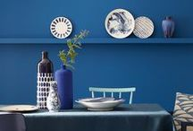 Little Greene Blue Collection
