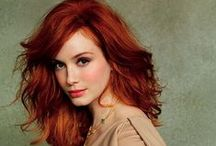Redheads / Lovely and fiery redheads--along with beauty secrets especially for our gorgeous ginger sisters.