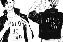 BRO - Bokuto & Kuroo / #bro #anime #manga #bokuto #kuroo #haikyuu