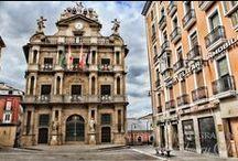 Pamplona, la vieja Iruña / Enamorada de mi tierra y mi ciudad, Pamplona es para mí, la mejor ciudad del mundo - mundial.