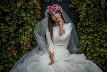 Novias - Brides / Me gustan casi todos los looks de novias, excepto los recargados. Mi máxima: menos es más.