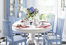 Blue and White Decorating / by Karen Linz
