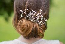 Velos y tocados para novias - Headdresses for brides / Si eres una novia tradicional buscarás un velo, si eres una novia atrevida un tocado. Ideales para completar tu look nupcial.