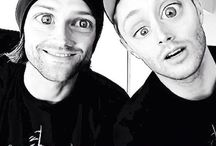 Jared and Jensen<3 / by Supernatural Obsessed