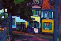 Kandinsky / Russisch- Franse kunstschilder. Expressionisme, abstracte kunst. 1866- 1944.
