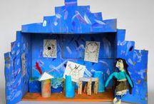 Atelier DeLuxe / Kunst door, voor en met kinderen en volwassenen tijdens workshops en projecten!! www.atelierdeluxe.nl