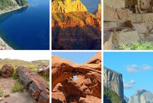 """National Park Inspiration / Some of the most beautiful pieces of land have been preserved for all of our enjoyment.  Get out there and visit """"your"""" National Parks."""