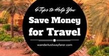 Travel Deals & Money Saving Tips / A board to gather all the latest in travel deals and ways to save money.