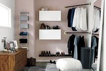 Closet love / All about walk in closets and wardrobes. A girl gotta store it all somewhere!!