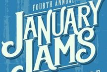 January Jams / The Abingdon Music Experience presents their annual concert series at the historic Barter Theatre featuring music legends and local favorites. Join us!