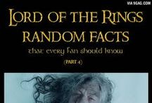 Facts about LOTR / Facts about Lord of the rings