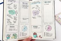 Organisation / Organisation - ideas to get all areas of life streamlined, organised and clutter free. Lots of bullet journal ideas to get started and what to use for content