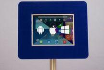 iPad & Tablet Kiosks - Custom Designs / imageHOLDERS range of Custom Designed and Branded iPad/Tablet Enclosures, Kiosks and Interactive Self Service Displays.