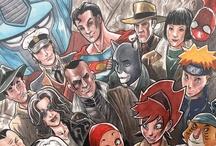 Eventos comiqueros y similares / Carteles de eventos relacionados con el mundo del cómic, manga, rol, etc. Para más información sobre este tipo de actos, http://gencomics.es/agenda/ o http://dreamers.com/news
