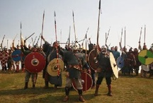 Vikings / Warriors and Sea Raiders!  But also traders, merchants, explorers, settlers, and farmers.  Even lawyers, holy men, and storytellers.  The Vikings left their imprint on Western Civilization.