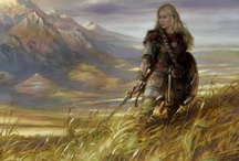 Viking Women / Viking Women ruled the household; that was their domain.  Men were in charge outside the house, but under the roof, the women were key.  Women had rights, and could own land, initiate divorces, and present legal claims.  Although the reality of shieldmaidens fighting in battles is disputed, there are instances of women taking up arms in their own defense.  The Viking woman was liberated and a force to be reckoned with...