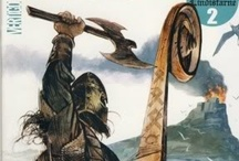 793 / In AD 793, Viking Raiders sacked the Monastery at Lindisfarne, an island off the coast of England, or what was then the kingdom of Northumbria.  Although there is an earlier recorded incident in which Northman killed an English sheriff on a beach (probably due to a misunderstanding), the raid on Lindisfarne is widely considered the event marking the start of the Viking Age.