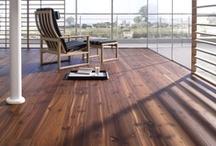 Dark wood floors / Beautiful dark wood floors