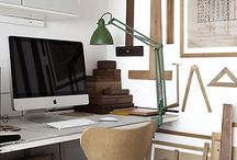 Work & Office Spaces / Environments that promote organization, forward thinking and creativity.