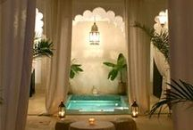 Moroccan Hammam & Spa / Zweena Argan Beauty Elixirs loves to indulge in luxurious treatments at Moroccan Hammams and Spas! www.zweenabodycare.com