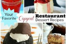 Copycat recipes I must try! / by ༺ℒori ℱrettoloso ༻