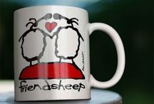 """Sheep Products / Fun products inspired by the """"Art for Ewe"""" sheep paintings"""
