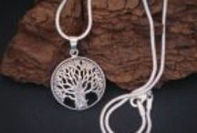 Tree of Life Necklace / This is a collection of images of Tree of Life Necklaces however there are also some images of other Tree of Life Jewelry ... my favorite site is www.TreeOfLifeJewellery.com