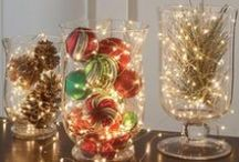 Holiday Home Decor / Festive ideas for the home