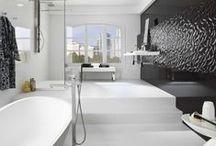 Bathroom / I enter the favorite place in a house. 家の中でも好きな場所に入ります。 / by POWDERYELLOW  Inagaki Shiro