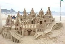 Sand art / http://www.powderyellow1.com/