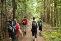 Hiking & Biking / Hiking is a great family activity that people of all ages enjoy.  There are many trails in Jackman that range from easy to strenuous.  For those who prefer wheels, biking trails carry you into a world of wonder and splendid scenery.