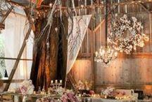 Barn weddings / Rustic and country barn weddings