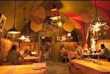Interiér Pizzérie Zvon / Výnimočná atmosféra, ktorá Vás očarí intimitou tlmených svetiel.