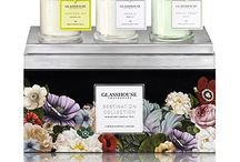 Glasshouse Candles Fragrances / Glasshouse Candles, Diffusers, Hand and Body Creme, Mini Candles and Soaps all available in both stores Penshurst & Leichhardt and on line   www.santinas.com.au