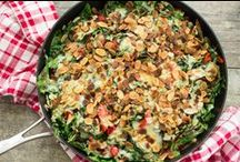 Vegetarian Recipes / Easy & healthy vegetarian recipes