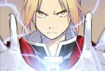 Full Metal Alchemist + Brotherhood / This anime is so awesome! It might seem boring at first but it gets funny and filled with action as you go along.  / by listiacraft cat