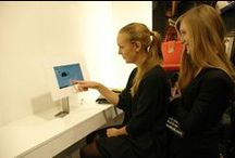 Retail Inspiration / Tablet technology adoption within retail has increased over the last few years and it will continue to grow at a fast rate. imageHOLDERS iPad kiosks and tablet enclosures combine a secure and practical solution for tablet displays with modern day style and design.