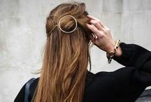 good | HAIR / beautiful hair | everyday hairstyles | chic | effortless | style | hairstyling ideas | inspiration | waves | ponytail | messy bun